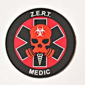 ZERT 702 Medic Soft Rubber PVC Patch
