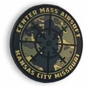 PVC-patch-airsoft-center-mass-airsoft-GREEN
