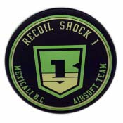 Airsoft PVC Patch - Mexicale Recoil