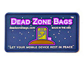 Dead zone Bags PVC Labels w/ Round Corners - Clothing Labels for Purses