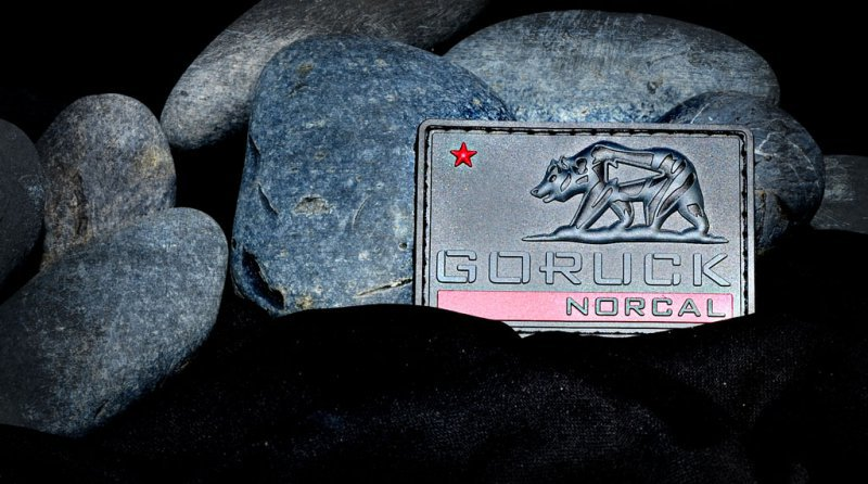 GORUCK NORCAL Soft Rubber PVC Patch