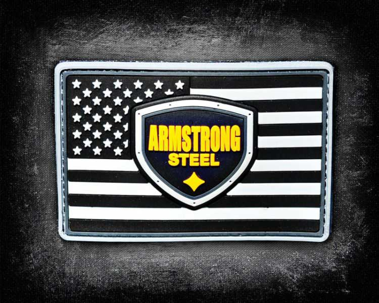 Armstrong Steal American Flag