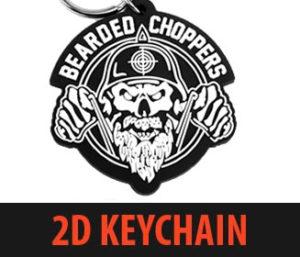 2D Mold PVC Keychain