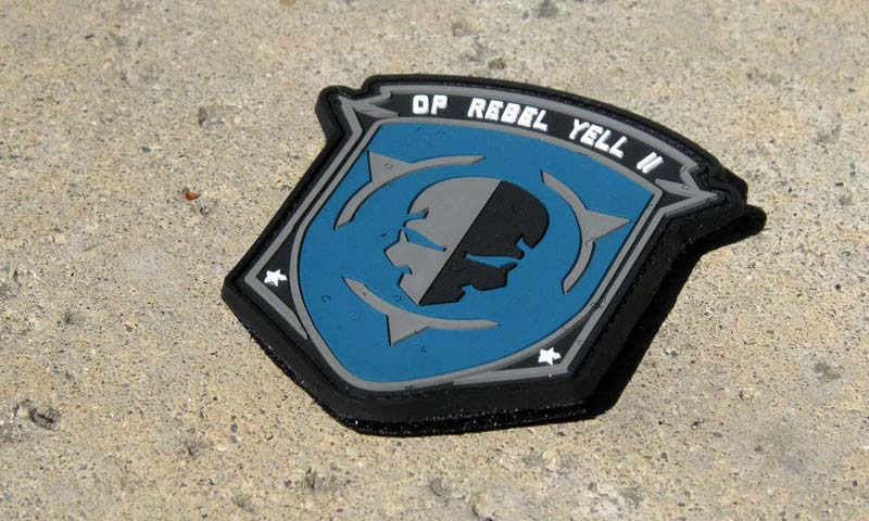 PVC Morale Patches