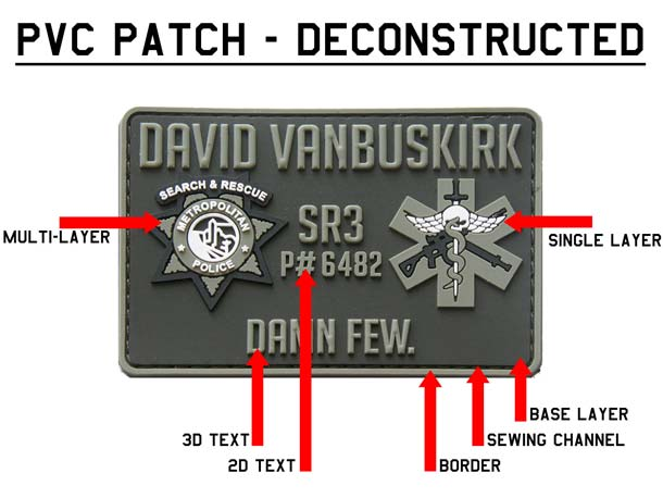 custom airsoft team patches