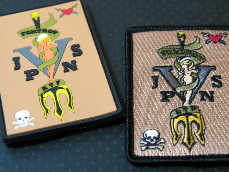 pvc vs embroidered patch