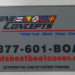 Marine Concepts Custom Soft Rubber PVC Label