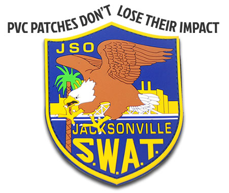 pvc patch vs embroidered patch