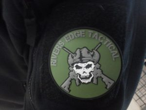 Rivers Edge Tactical Patch on Velcro Sleeve
