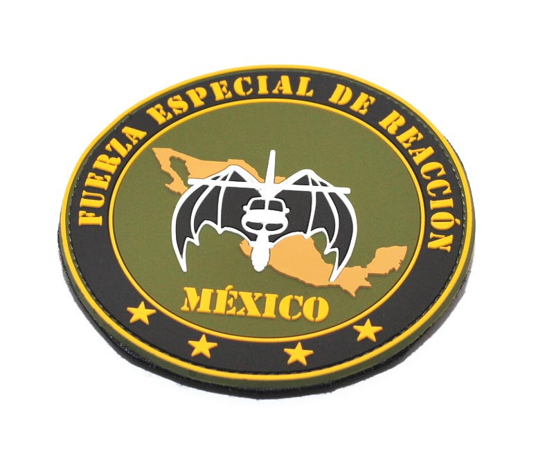 Fuerza Especial de Reaccion MExico pvc patch