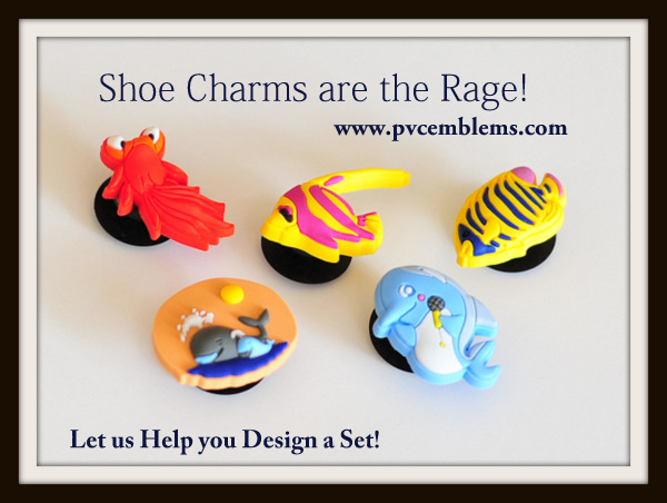 custom  croc charms - shoe charms