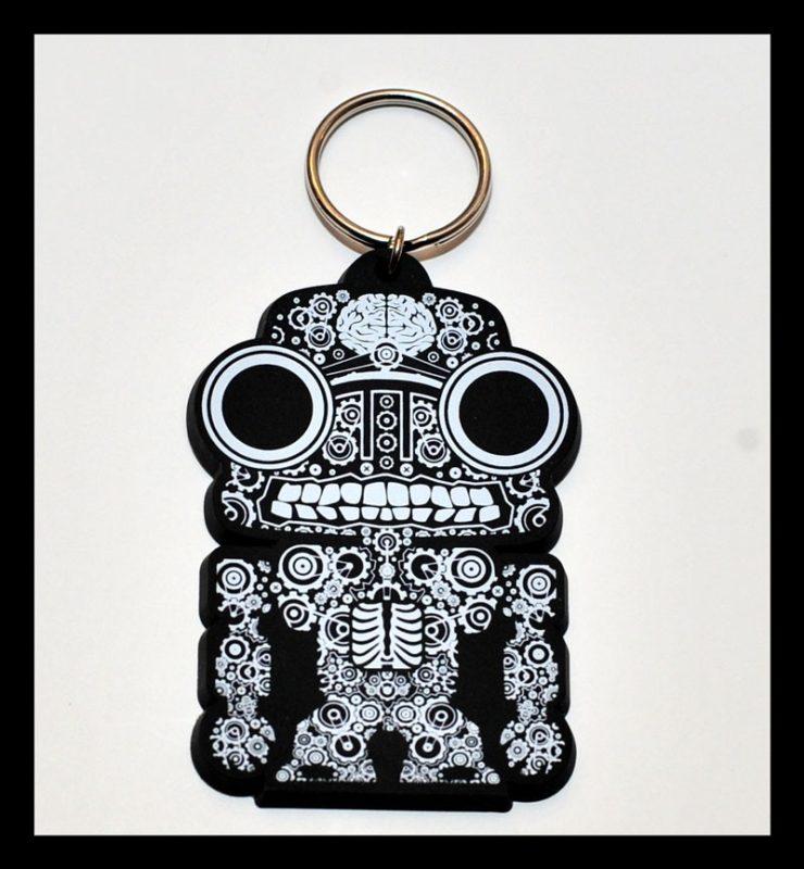 Printed PVC Keychain