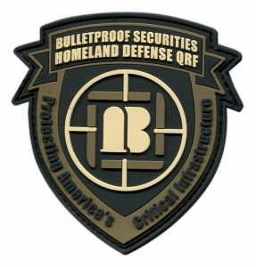 custom military PVC patches