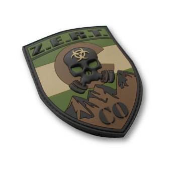 custom military 3D patches