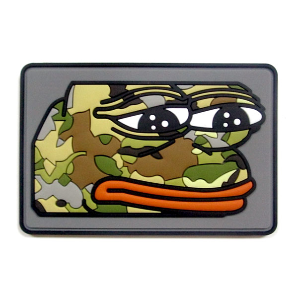 "3""x2"" Rectangular w Rounded Corners - 3D Morale PVC Patch - No more embroidered multicam patches for them!"