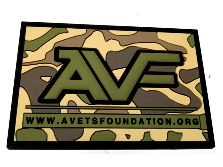 American Vets Foundation Multicam PVC Patch