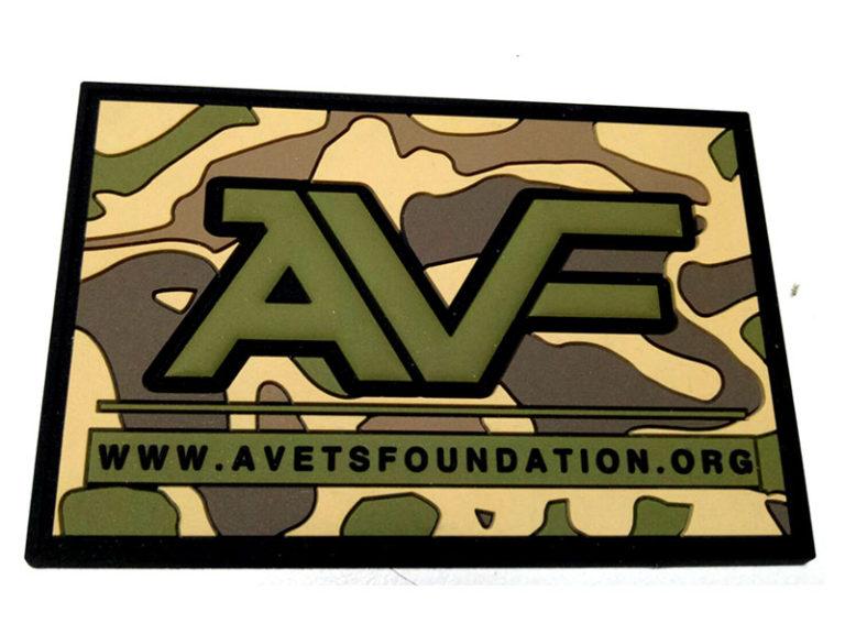 American Vets Foundation Multicam PVC Patch