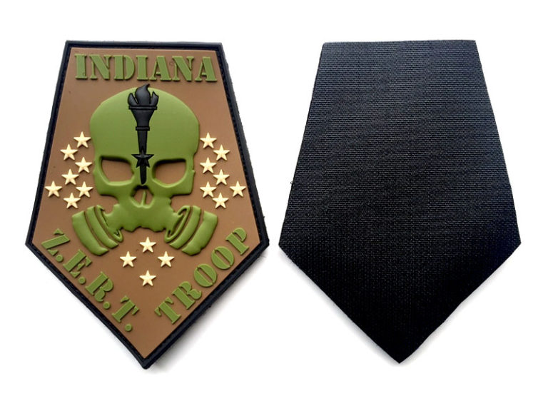 Indian Troop Multicam PVC Patch