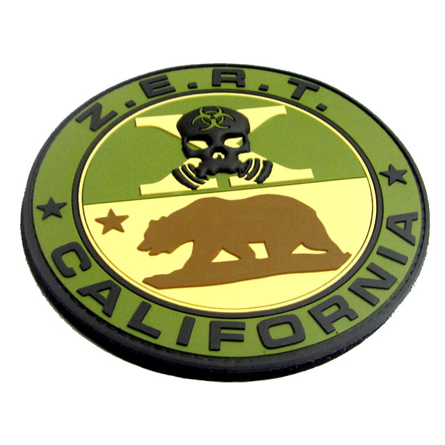 ZERT California 3D PVC Patch - Multicam