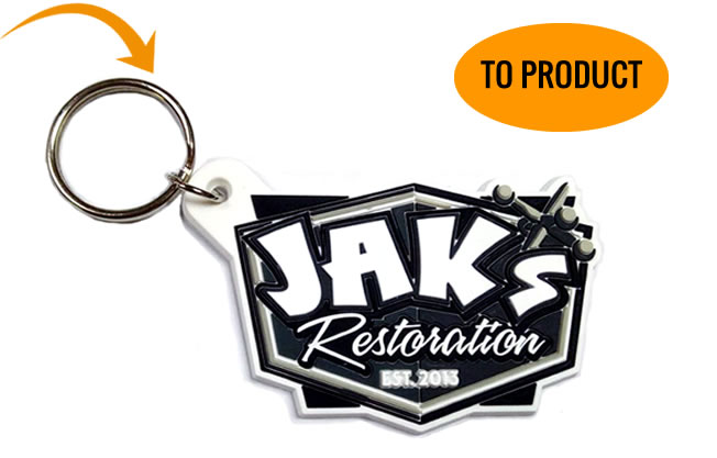 Final PVC Keychain for Jaks