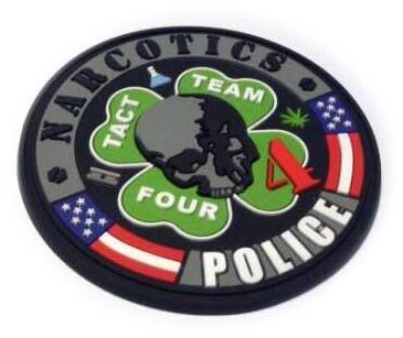 Narcotics-Police-PVC-Patch