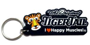 TigerTail PVC Keychain