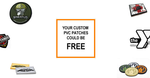 your custom pvc patches could be free