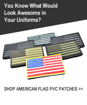 Buy American Flag PVC Patches
