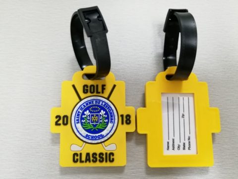 golf tournament 2018 PVC luggage tags