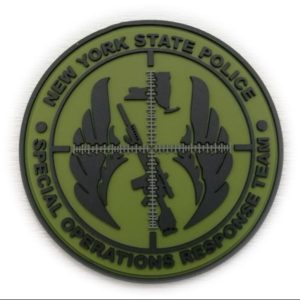 New York State Police PVC Patch