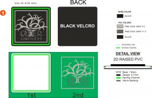 factory-art-proof pvc emblems