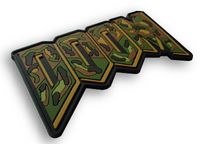 Doom PVC Morale Patch