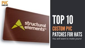top 10 custom pvc patches for hats