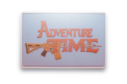 dventure Time PVC Morale Patch