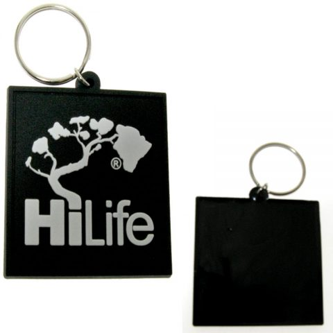 Double sided Any Names Keys Personalised Soft Touch Keyring