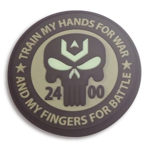 Glow In the Dark GID PVC Patch